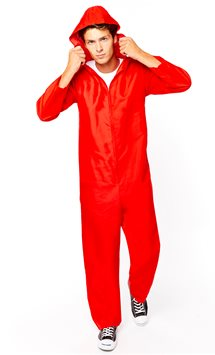 Money Heist Jumpsuit - Adult Costume