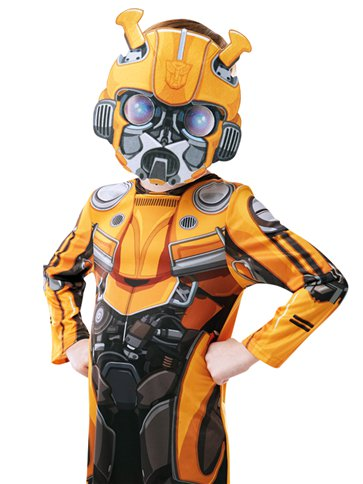 Transformers Bumblebee - Child Costume back
