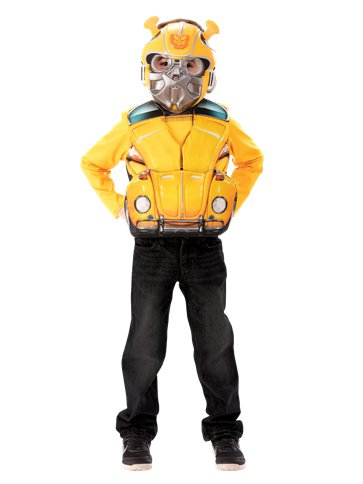 Transformers Bumblebee Flip and Reveal - Child Costume front
