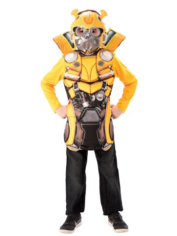 Transformers Bumblebee Flip and Reveal - Child Costume left