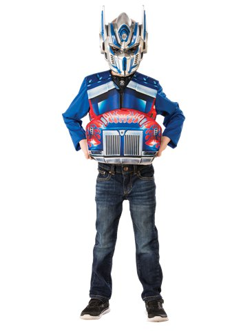 Transformers Optimus Flip and Reveal - Child Costume front