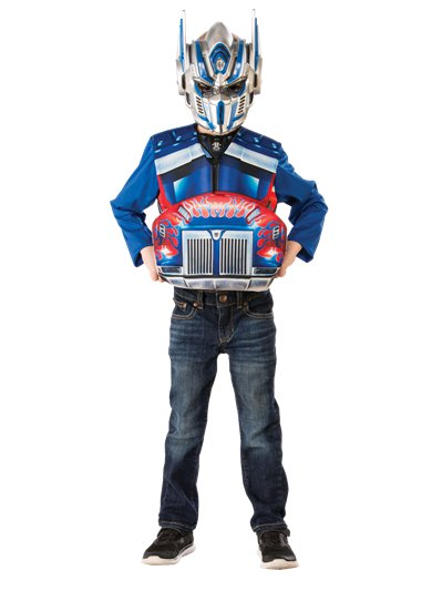Transformers Optimus Flip and Reveal - Child Costume