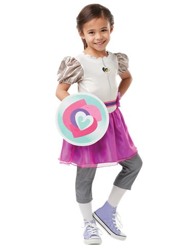 Nella Knight Deluxe - Child Costume front
