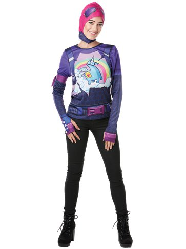 Fortnite Brite Bomber Kit - Adult Costume front