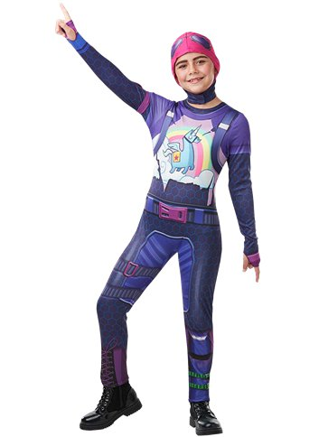 Fortnite Brite Bomber - Child & Teen Costume | Party Delights