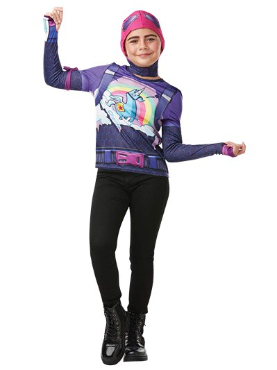 Fortnite Brite Bomber Kit - Child & Teen Costume