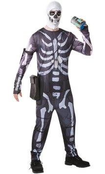 Fortnite Skull Trooper - Adult Costume