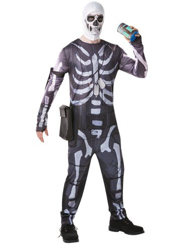 Fortnite Skull Trooper - Adult Costume front