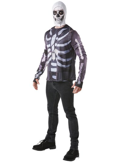 Fortnite Skull Trooper Kit - Adult Costume