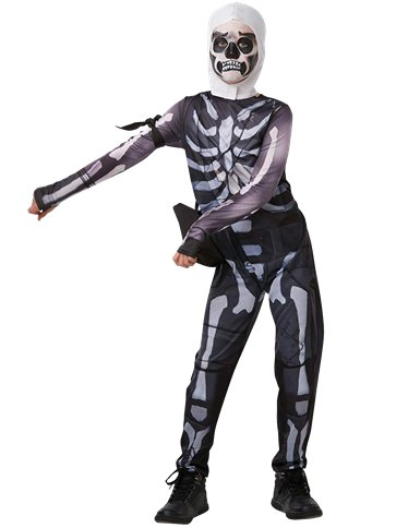 Fortnite Skull Trooper - Child & Teen Costume front