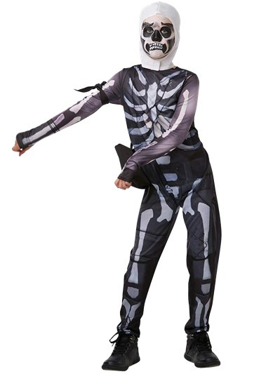 Fortnite Skull Trooper - Child & Teen Costume