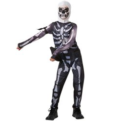 Fortnite Skull Trooper - 9-10 Years