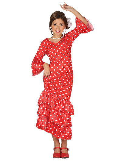 Flamenco Dancer - Child Costume