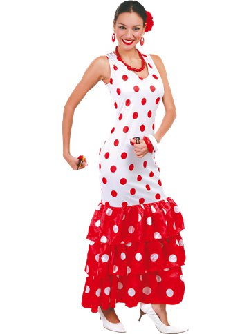 Flamenco Dancer - Adult Costume front