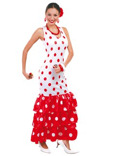 Flamenco Dancer - Adult Costume
