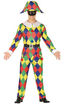 Harlequin - Adult Costume
