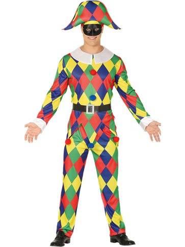Harlequin - Adult Costume front