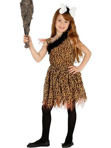 Cavegirl - Child Costume front