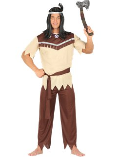Nativo americano - Costume adulto