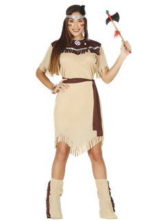 Nativa americana - Costume adulto