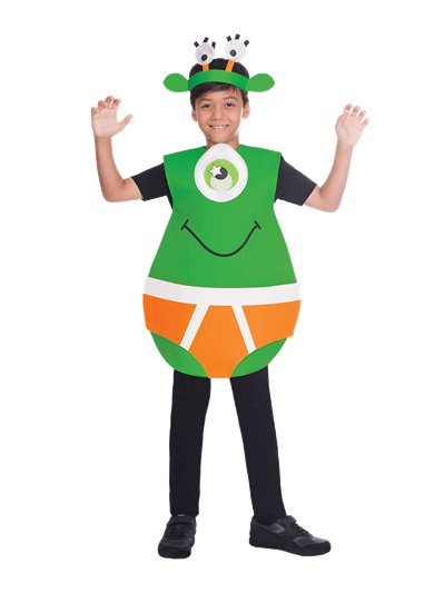 Outerspace Underpants - Child Costume