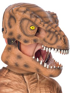 Jurassic Park Tyrannosaurus Rex Movable Jaw Mask