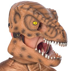 Fancy Dress Accessories Tyrannosaurus Rex Movable Jaw Mask