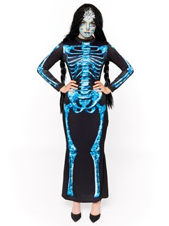 Diamond Skeleton Dress