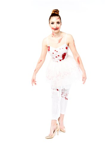 Zombie Ballerina - Adult Costume left