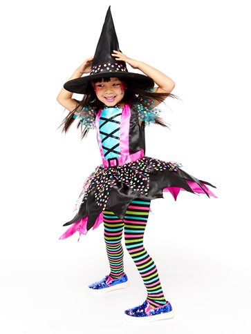 Spot Witch - Child Costume back