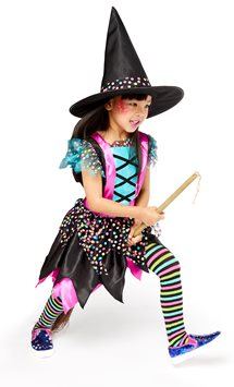 Spotted Witch - Child Costume