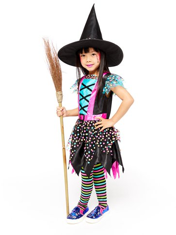 Spot Witch - Child Costume left