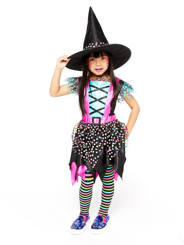 Spot Witch - Child Costume pla