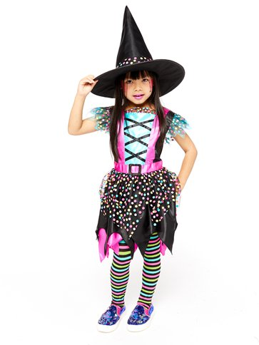 Spot Witch - Child Costume side