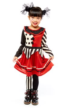 Harlequin Clown - Child Costume