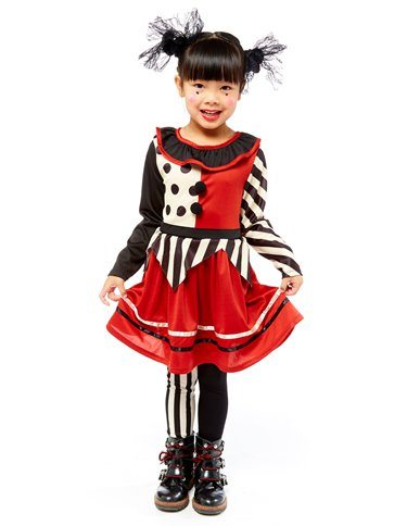 Harlequin Clown - Child Costume front