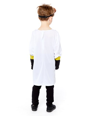 Zombie Scientist - Child Costume back