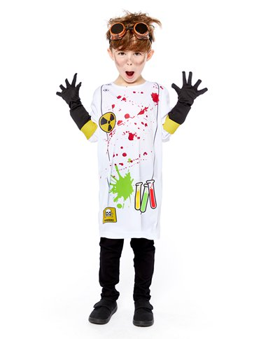 Zombie Scientist - Child Costume front