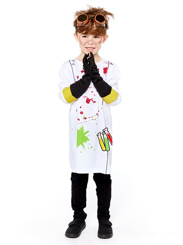 Zombie Scientist - Child Costume left