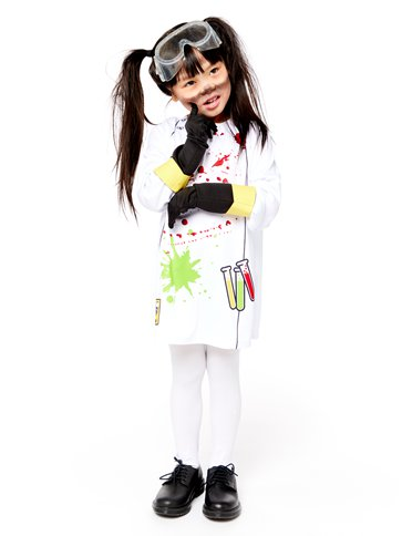 Zombie Scientist - Child Costume right
