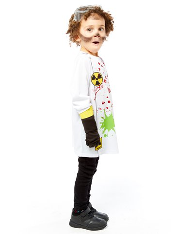 Zombie Scientist - Child Costume side