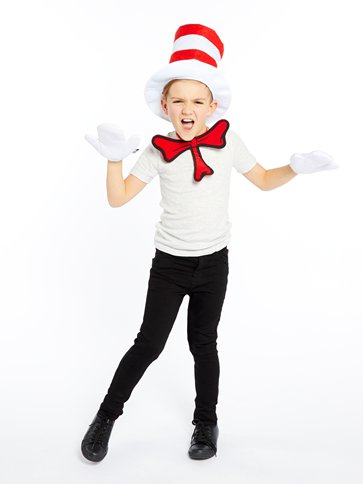 Dr Seuss Cat in the Hat Dress Up Kit front