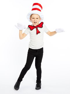 Dr Seuss Cat in the Hat Dress Up Kit