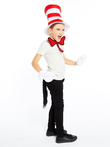 Dr Seuss Cat in the Hat Dress Up Kit left