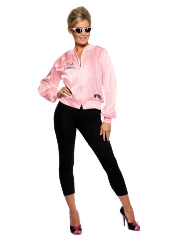 Grease Pink Lady Jacket - Adult Costume front