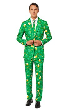 Suitmeister St Patrick's Day Icons Suit - Adult Costume