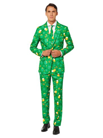 Suitmeister St Patrick's Day Icons Suit - Adult Costume front