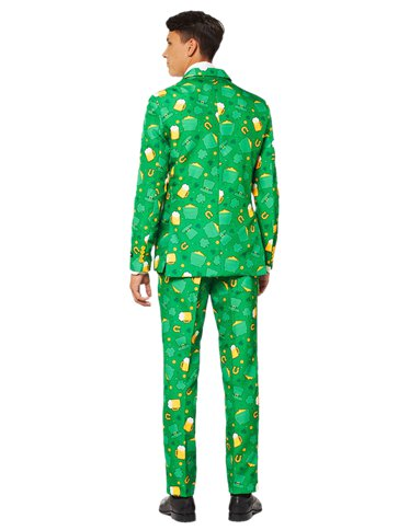Suitmeister St Patrick's Day Icons Suit - Adult Costume left