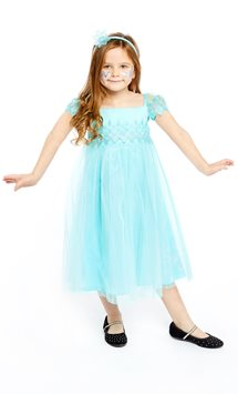 Disney Frozen Elsa Aqua Lace Dress - Toddler & Child Costume