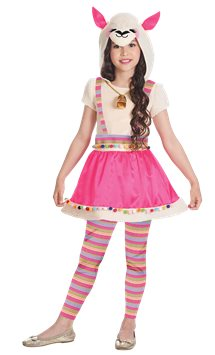 Ride on Llama - Child Costume | Party Delights